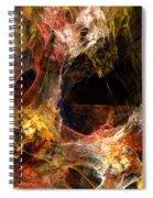Holes Spiral Notebook