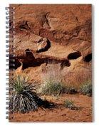 Holes - Yucca - Kodachrome Basin Spiral Notebook