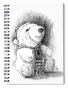Holiday Bear Spiral Notebook