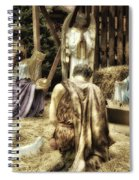 Holiday Christmas Manger Pa 02 Spiral Notebook