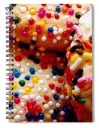 Holiday Cookies Spiral Notebook