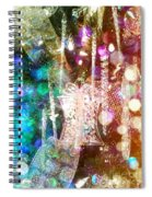 Holiday Fantasy Spiral Notebook