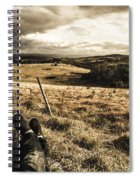 Holiday In Tasmania Spiral Notebook