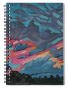 Holiday July Sunrise Spiral Notebook