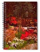 Holiday Mosaic Spiral Notebook