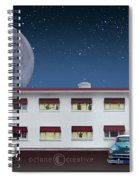 Holiday Motel Spiral Notebook