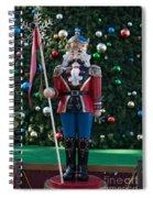 Holiday Nutcracker Spiral Notebook