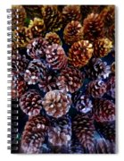 Holiday Pinecones #2 Spiral Notebook