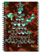 Holiday Shine 3 Spiral Notebook