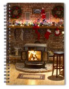 Holiday Spirit Spiral Notebook