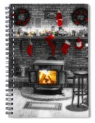 Holiday Spirit Magic Dream Spiral Notebook