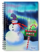 Holiday Top Hat Spiral Notebook