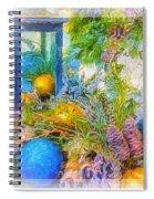 Holiday Vignette 2 Spiral Notebook
