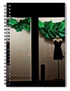 Holiday Window Fashion Spiral Notebook