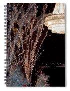 Holiday Wonderland Of Lights 2 Spiral Notebook