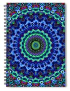 Holiday Wreath No. 2  Spiral Notebook