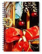 Holidays Are Coming  Spiral Notebook