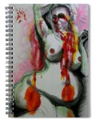 Holistic Gestation Iv Spiral Notebook