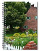 Holland English Garden Spiral Notebook