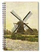 Holland - Windmill Spiral Notebook