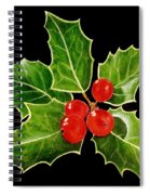 Holly Spiral Notebook