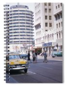 Hollywood And Vine California 1956 Spiral Notebook