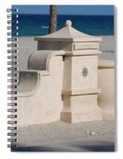 Hollywood Beach Spiral Notebook