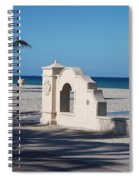 Hollywood Beach Wall In Color Spiral Notebook