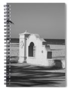 Hollywood Beach Wall Spiral Notebook