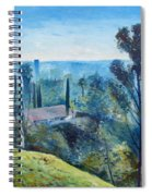 Hollywood Hills California Usa 1997  Spiral Notebook