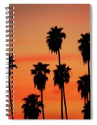 Hollywood Sunset Spiral Notebook