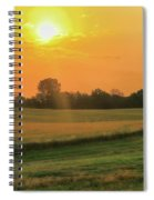 Holmes County Sunrise Spiral Notebook