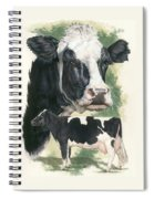 Holstein Spiral Notebook
