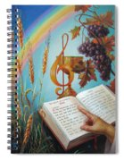 Holy Bible - The Gospel According To John Spiral Notebook