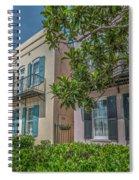 Holy City Rainbow Row Spiral Notebook