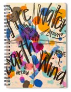 Holy Everywhere Spiral Notebook