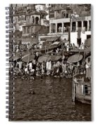 Holy Ganges Monochrome Spiral Notebook