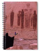 Holy Ghost Petroglyph Into The Mystic Spiral Notebook