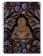 Holy In Peace And Acryl Spiral Notebook