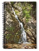 Holy Jim Falls Spiral Notebook