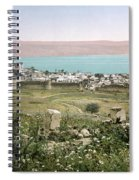 Holy Land: Tiberias Spiral Notebook