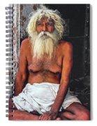 Holy Man 2 Spiral Notebook