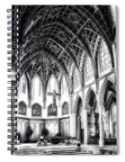 Holy Name Cathedral Chicago Bw 03 Spiral Notebook