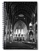 Holy Name Cathedral Chicago Bw 04 Spiral Notebook