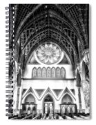 Holy Name Cathedral Chicago Bw 06 Spiral Notebook
