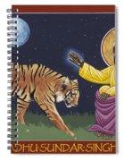 Holy Sadhu Sundar Singh 189 Spiral Notebook