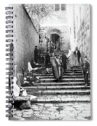 Holy Sepulchre Stairs Spiral Notebook