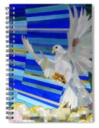 Holy Spirit Dove Spiral Notebook