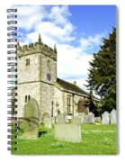 Holy Trinity Church - Ashford-in-the-water Spiral Notebook