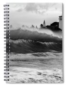 Holy Water Spiral Notebook